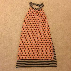 Cute print THML print dress.
